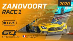 RACE 1 - GT4 EUROPEAN SERIES   - ZANDVOORT 2020 - FRENCH