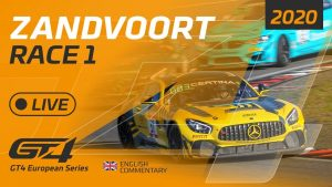 RACE 1 - GT4 EUROPEAN SERIES   - ZANDVOORT 2020 - ENGLISH