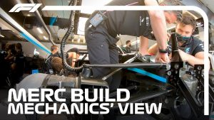 Mechanics POV: Mercedes F1 Mechanics Prepare W11 For Qualifying