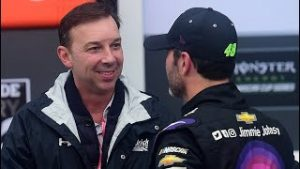 Chad Knaus reflects on his time with Jimmie and will he crew chief him at Phoenix? | NASCAR