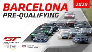 PRE-QUALIFYING - BARCELONA GTWC EUROPE 2020 - ENGLISH