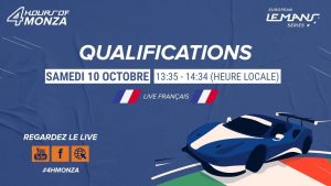 REPLAY FR - Qualifications - 4 Heures de Monza