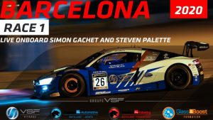 RACE 1- CAR 26 - LIVE ONBOARD WITH SIMON GACHET & STEVEN PALETTE