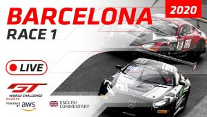 RACE 1 - BARCELONA GTWC EUROPE 2020 - ENGLISH
