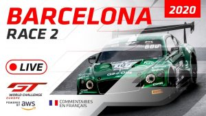 RACE 2 - BARCELONA GTWC EUROPE 2020 - FRENCH