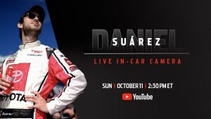 Daniel Suarez live in-car camera presented by Coca-Cola | NASCAR Playoffs at the Roval