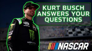 Favorite wins and favorite cars. Kurt Busch answers YouTube community questions | NASCAR Cup Series