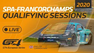 QUALIFYING - GT4 EUROPEAN SERIES - SPA 2020 - ENGLISH