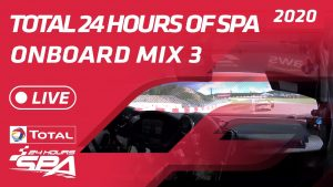 LIVE - ONBOARD MIX 3 - TOTAL 24 HOURS SPA 2020