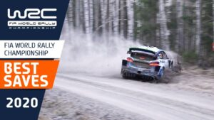 Seven of 2020's biggest saves in the world rally championship!