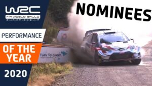 WRC - PERFORMANCE OF THE YEAR 2020