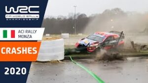 WRC - ACI Rally Monza 2020: CRASH compilation