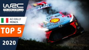 TOP 5 moments - ACI Rally Monza 2020 - FIA World Rally Championship