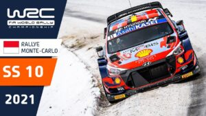 WRC - Rallye Monte-Carlo 2021: Highlights Stage 10