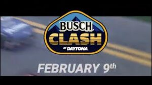 The Busch Clash from Daytona starting lineup drawing