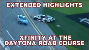 Leaders wreck each other early in Daytona | Xfinity Extended Highlights from the Daytona Road Course