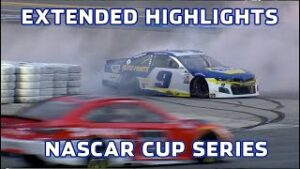 Chase Elliott has bad luck late in wreck-filled Daytona Road Course Race | Extended Highlights