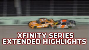 Noah Gragson taken out from the lead | NASCAR Xfinity Series Highlights from Homestead-Miami