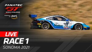 SONOMA - RACE 1 - GT WORLD CHALLENGE AMERICA 2021
