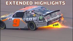 Fire, Wrecks and Late-Race Drama | Extended Highlights: NASCAR Xfinity Series from Phoenix Raceway