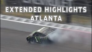 Kurt Busch gets turned & Chase Elliott blows up at Atlanta | Extended Highlights | NASCAR Cup Series