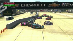 2021 INDYCAR iRacing Challenge Highlights - Sebring