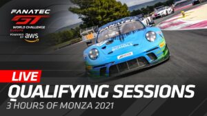 LIVE FROM MONZA - QUALIFYING - FANATEC GT WORLD CHALLENGE 2021 ENGLISH