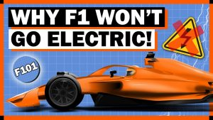 Why F1 Cars Won't Be Electric Anytime Soon