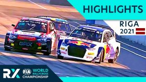 World RX+ Live Highlights : Ferratum World RX of Riga 2021 : Day 1 Semi Finals and Final from Latvia