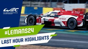 24 Hours of Le Mans: Last hour highlights