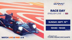 REPLAY EN - RACE - 4 Hours of Spa-Francorchamps 2021