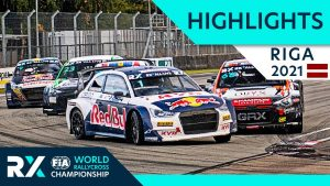 World RX Highlights : Ferratum World RX of Riga 2021 : Day 2 Semi Finals and Final from Latvia