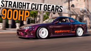 GoPro POV - 900HP 2JZ S15 Race Car Vs. STREETS!